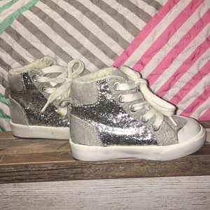 Girls Sparkly Sneakers